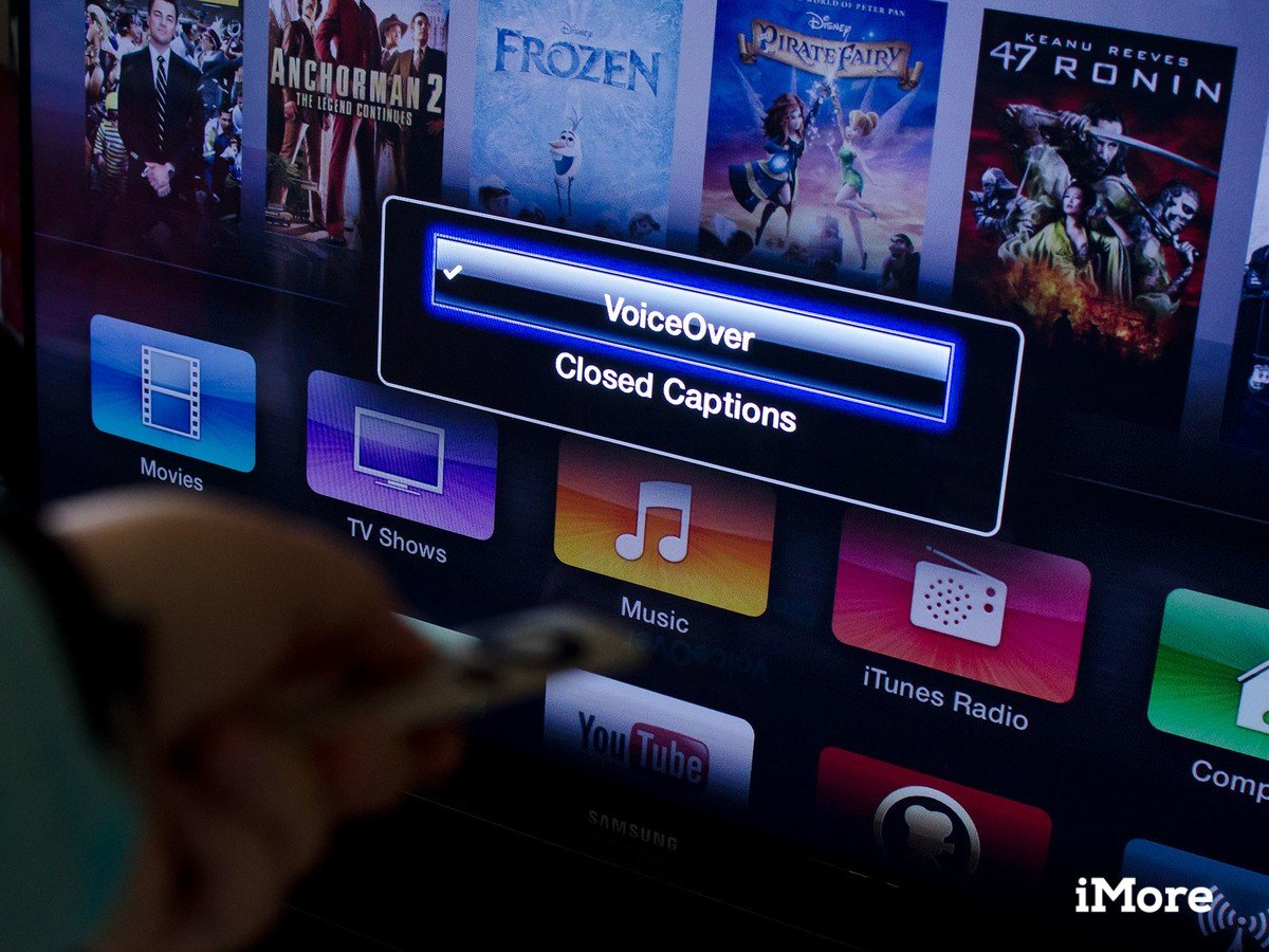 How to enable and use VoiceOver on your Apple TV