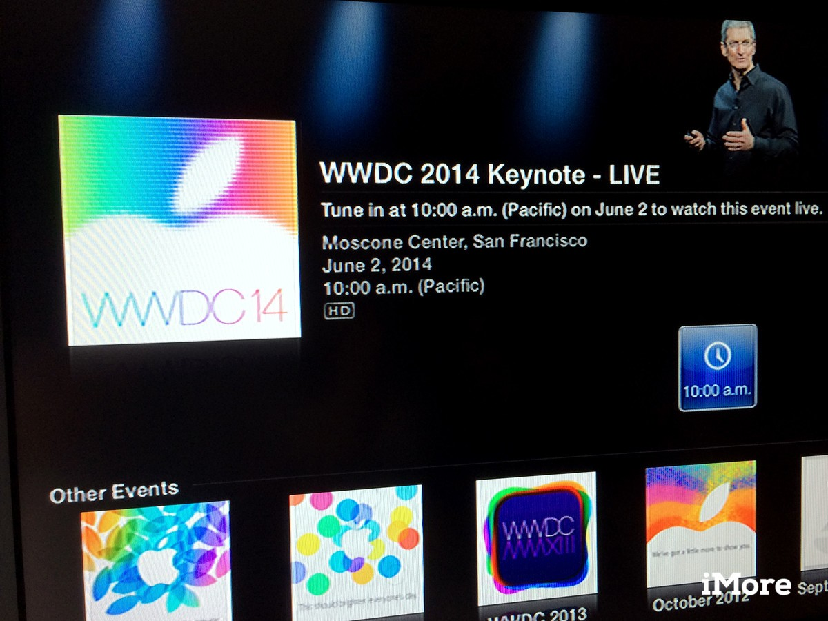 Apple Events channel