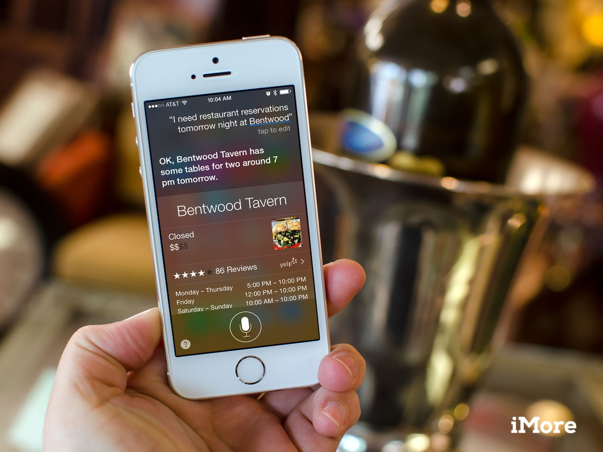 How to make restaurant reservations on iPhone and iPad with Siri
