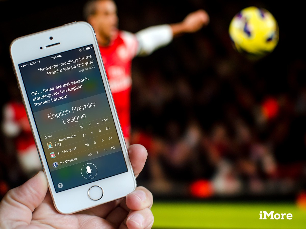 How to look up sports league standings with Siri