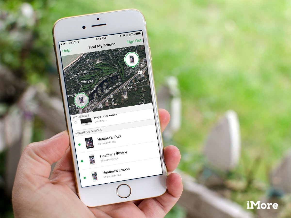 use find my iphone how to use family with find my iphone imore 16357
