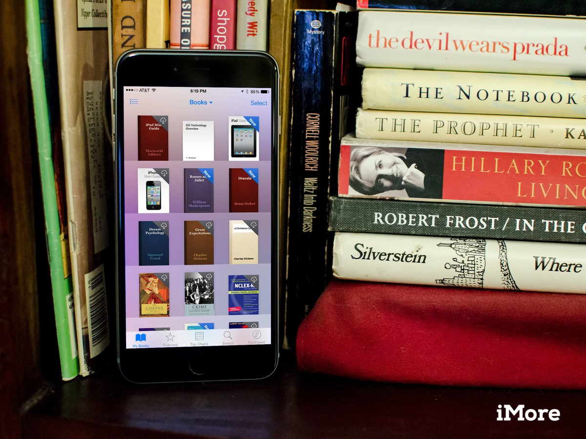 How to re-download purchased books on iPhone and iPad with iBooks and iTunes in the Cloud