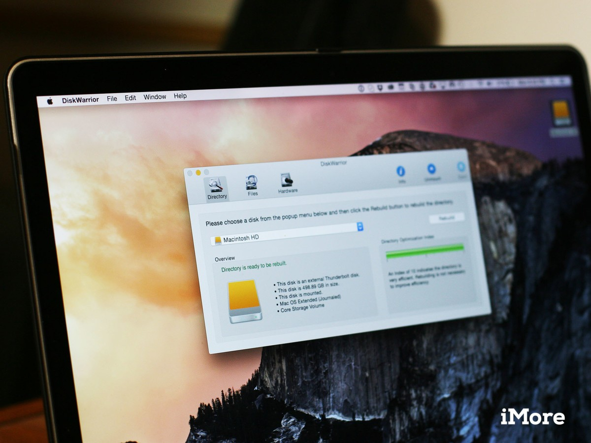 Save your Mac's hard drive with DiskWarrior 5