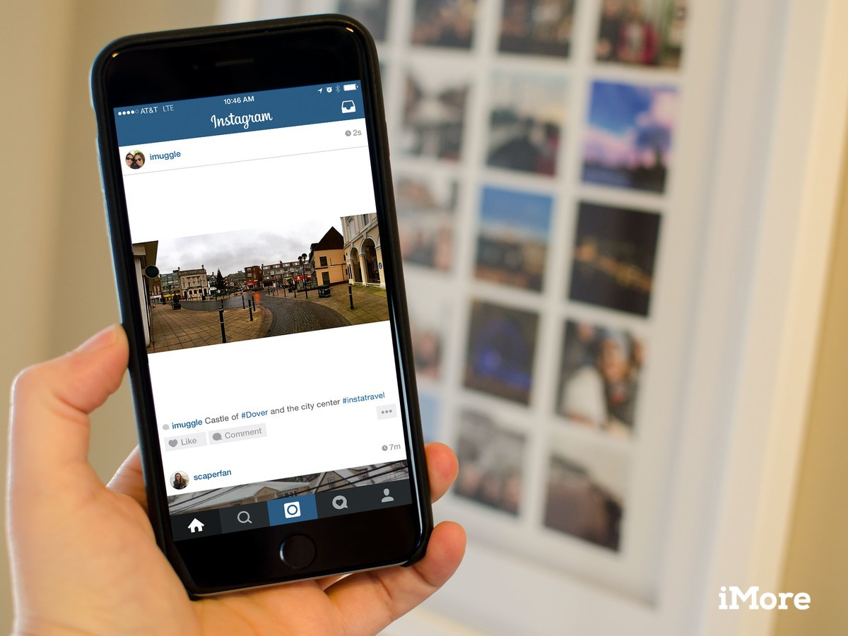 How to upload a non-square photo to Instagram