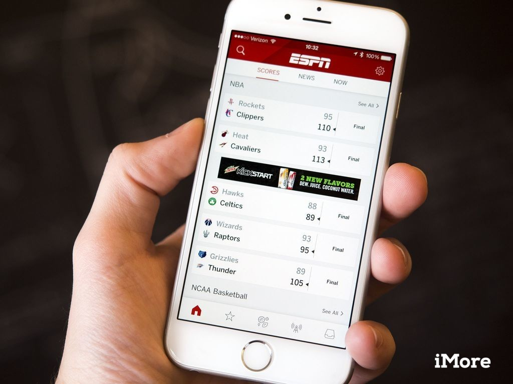 Espn App Gets Revamped With Full Support For Ipad And
