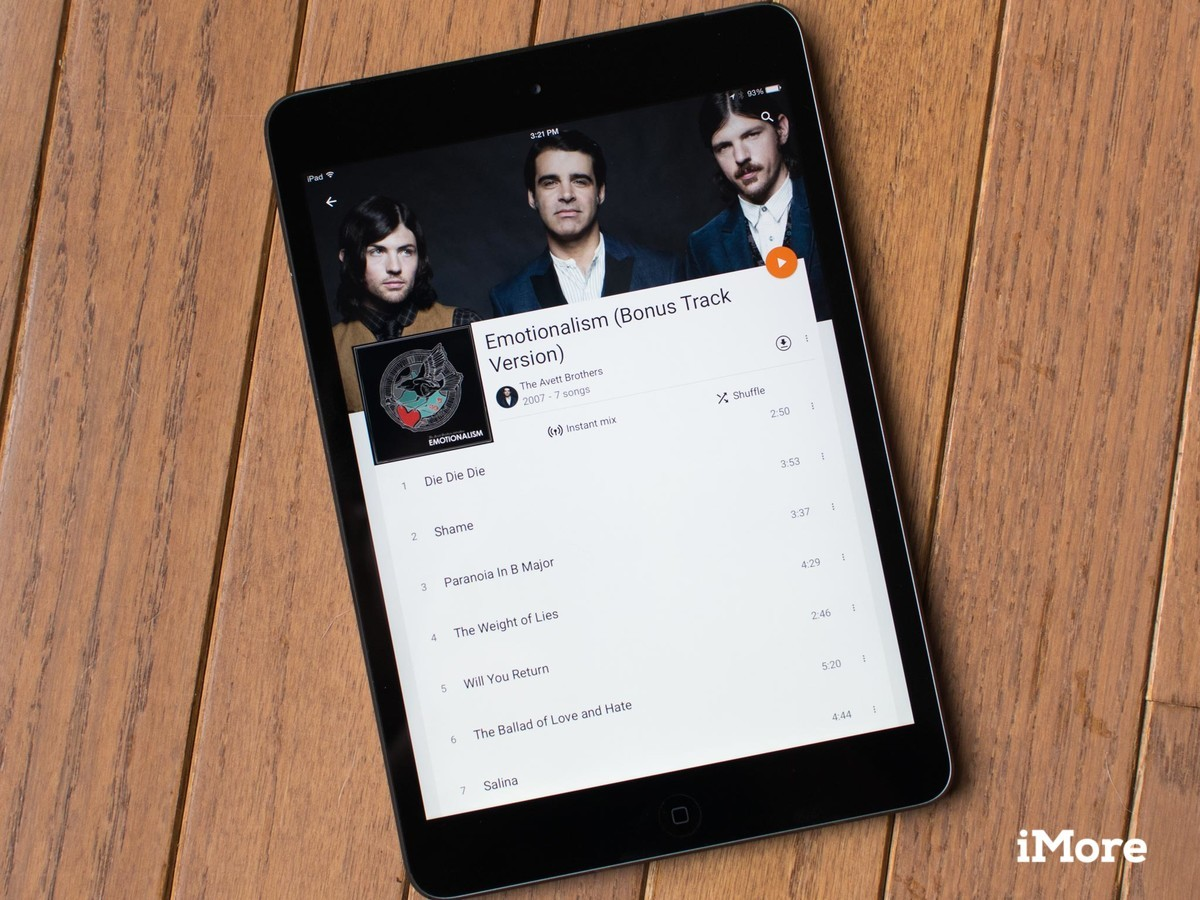 Google Play Music updated with iPad support, Material Design tweaks