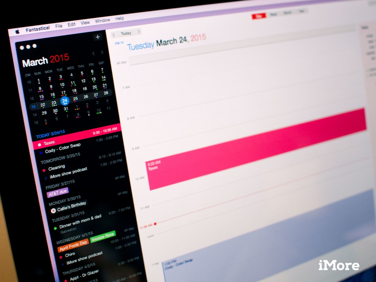 Fantastical 2 for Mac nabs support for OS X El Capitan