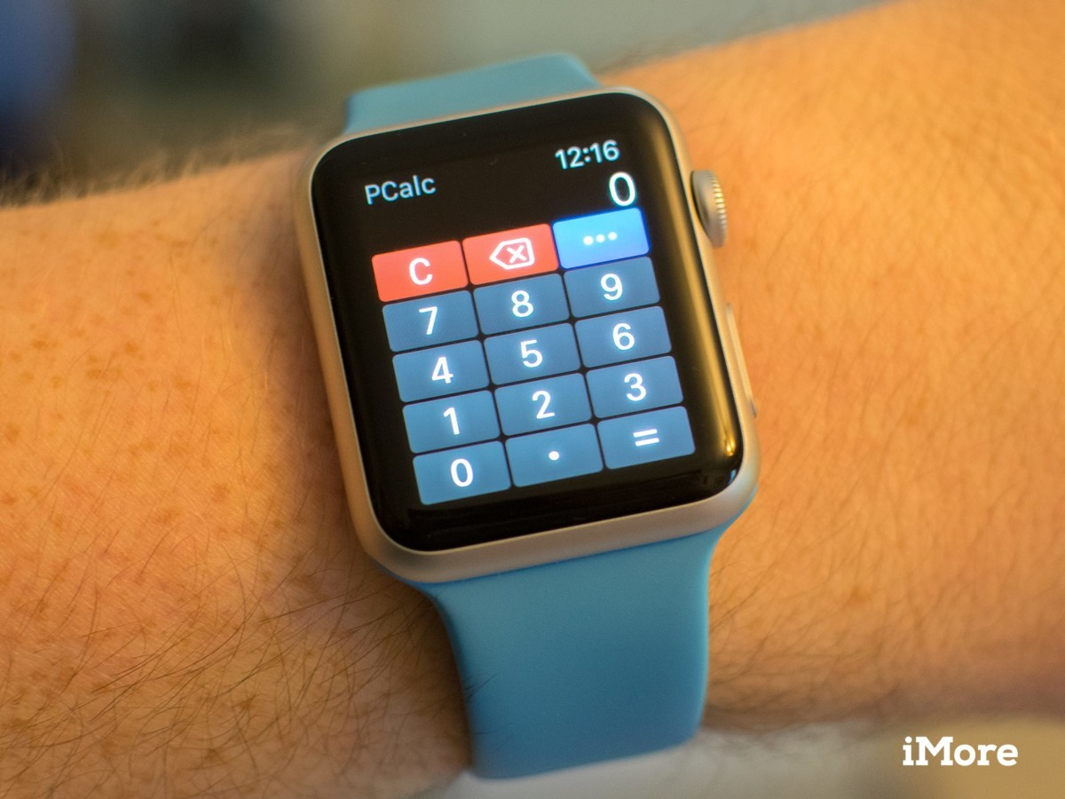PCalc brings their own take on wrist calculations to the Apple Watch