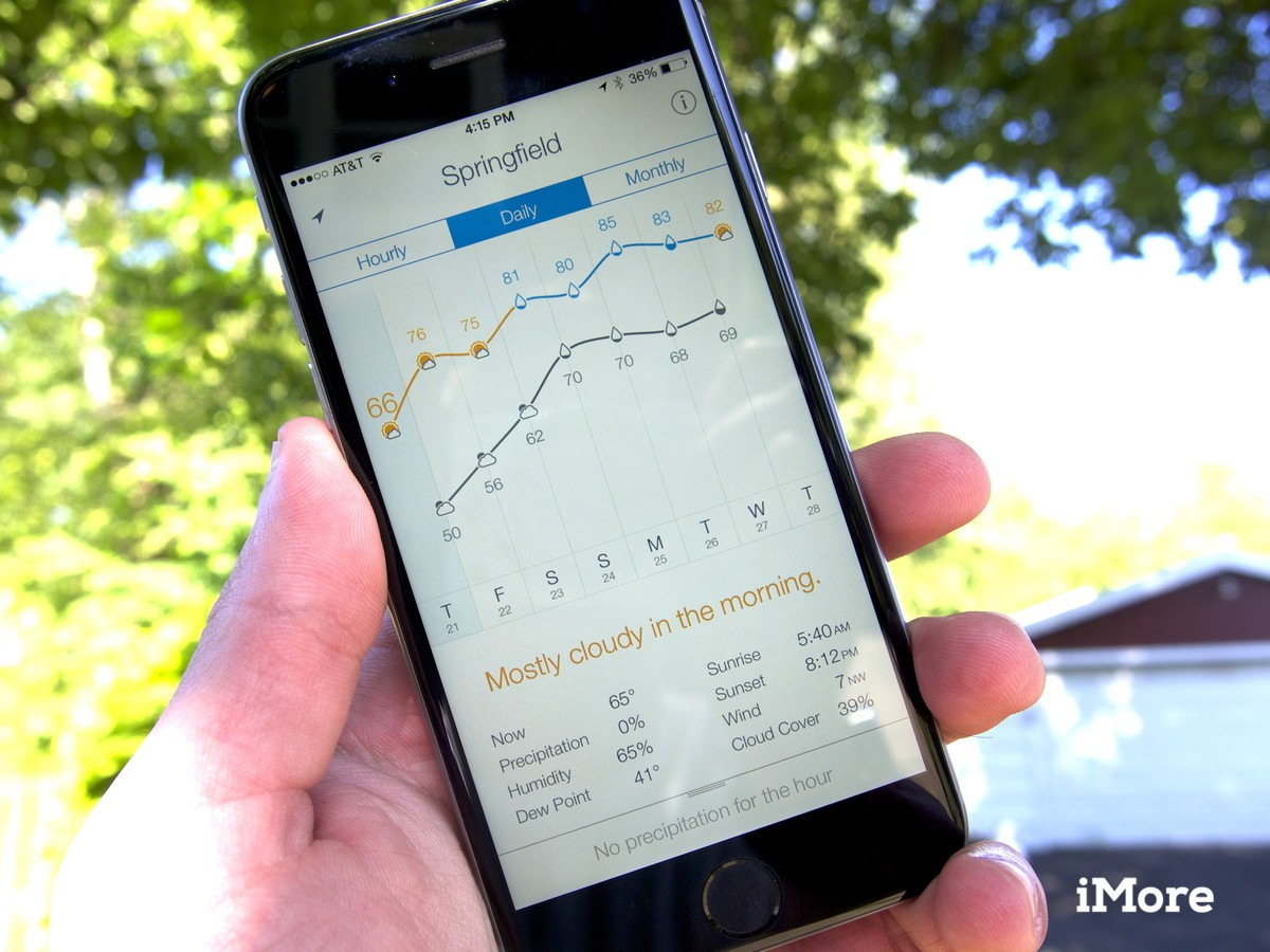 Weather Line update brings improvements to daily view, iPhone 6 and 6 Plus tweaks