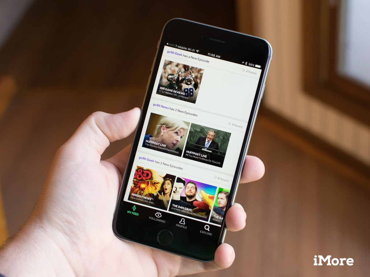 Verizon now offers its customers unlimited video streaming over LTE with go90