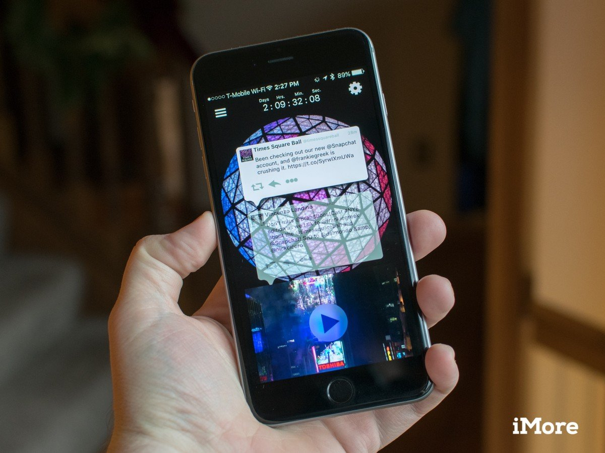 Ring in the New Year with the Times Square Official Ball app