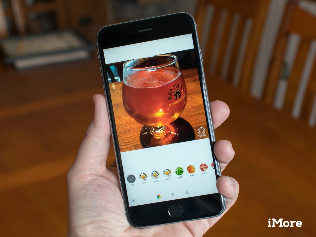 LINE's Foodie camera will help make your food photos great