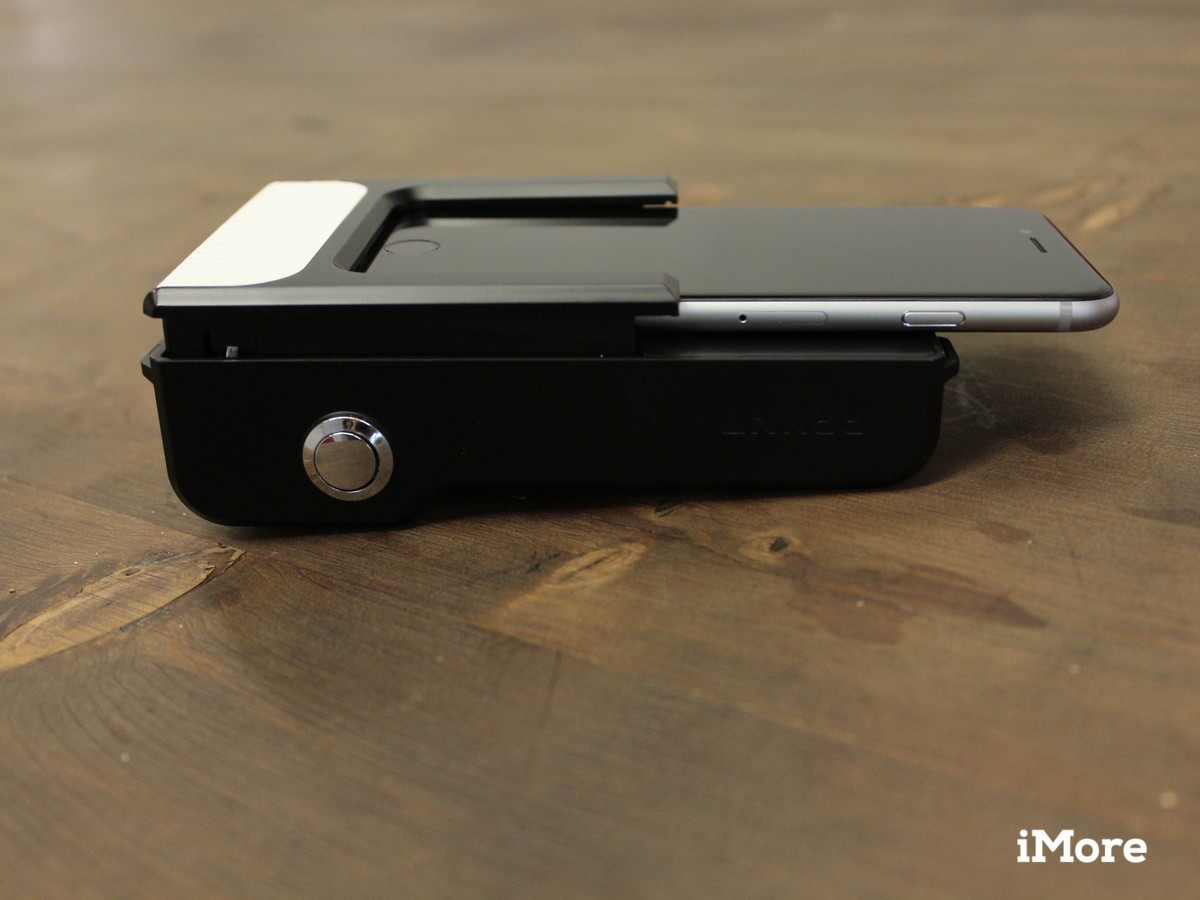 The neatest part of the Prynt's design is that it essentially turns your iPhone into a point-and-shoot camera.