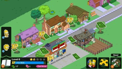 How to get more money and xp on simpsons tapped out online