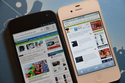 Chrome for Android vs. Safari for iPhone: Browser shootout