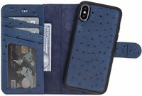 Burkley Carson 2-in-1 Leather Wallet iPhone Case