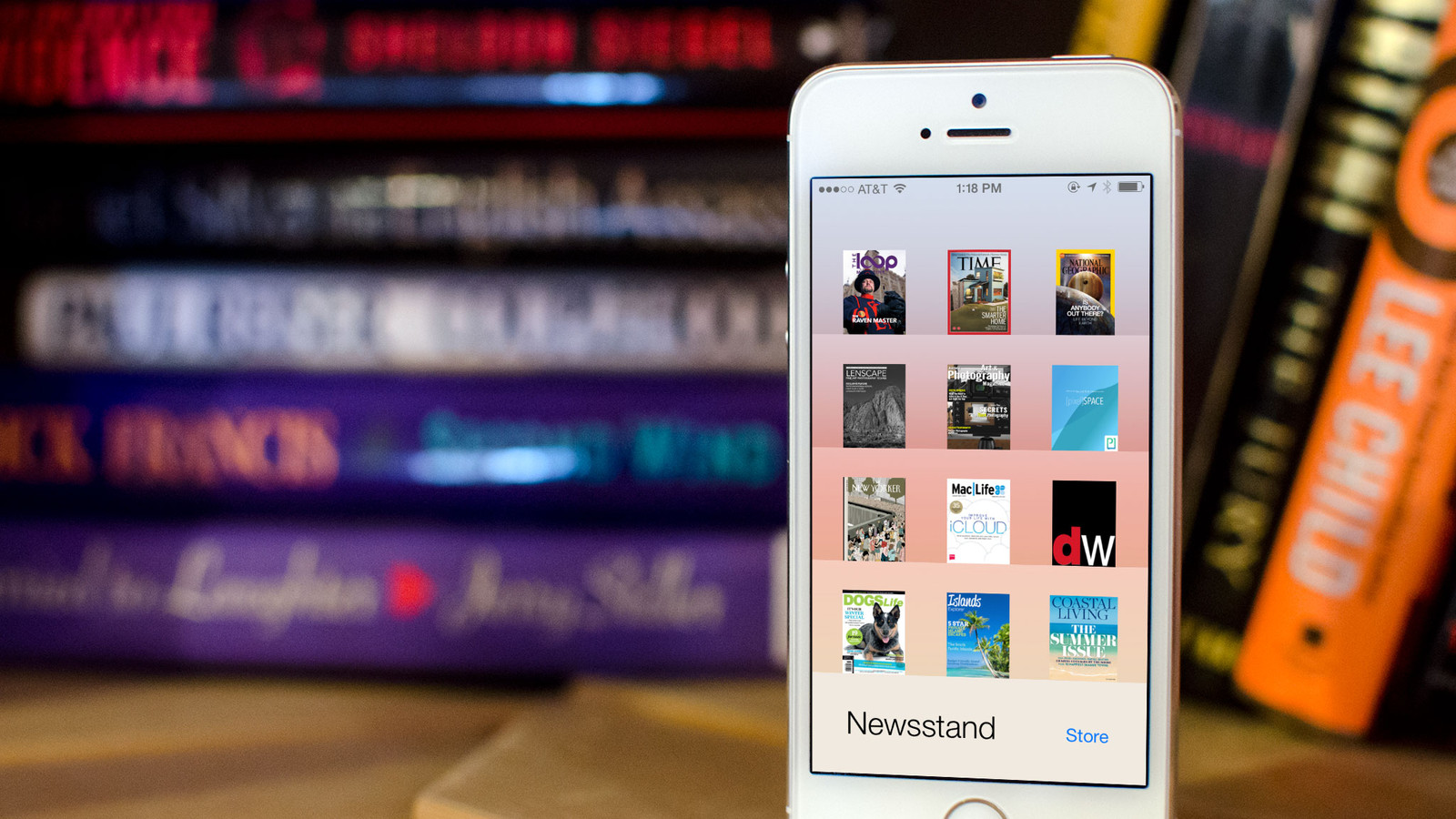 How to enable automatic downloads for Newsstand publications