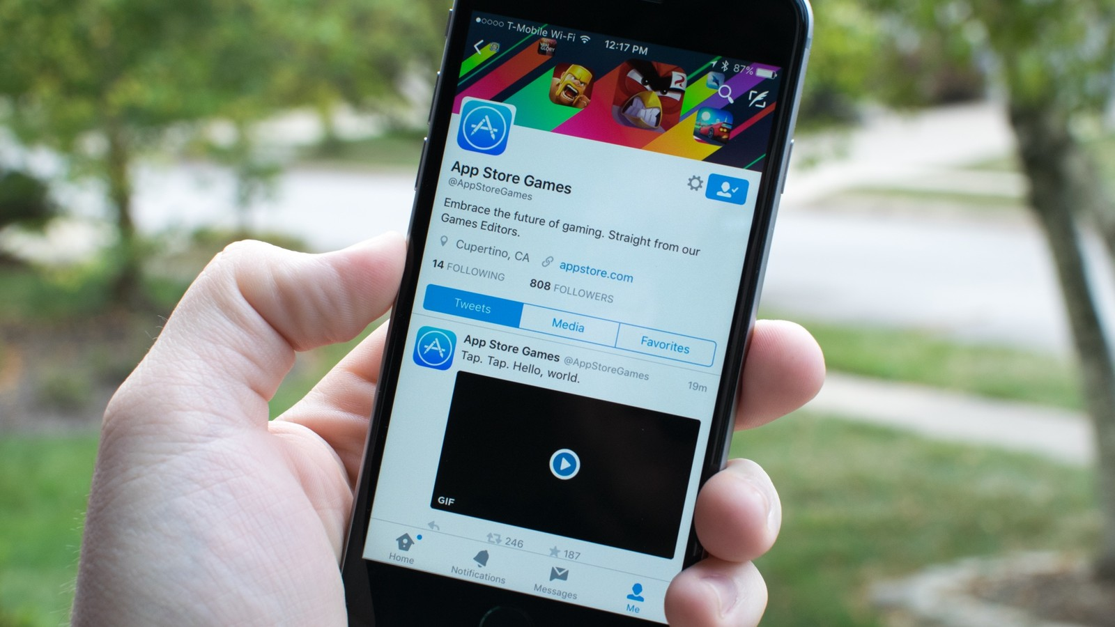 App Store gaming gets an official Twitter account