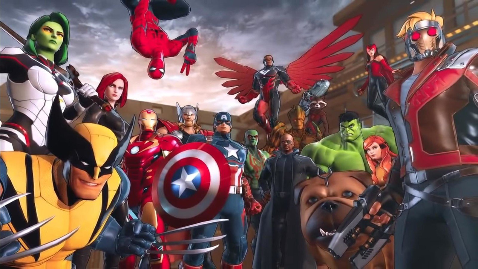 Marvel Ultimate Alliance 3: The Black Order characters