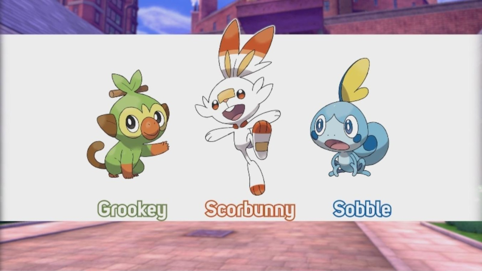 Image result for Pokemon Sword and Shield Starters