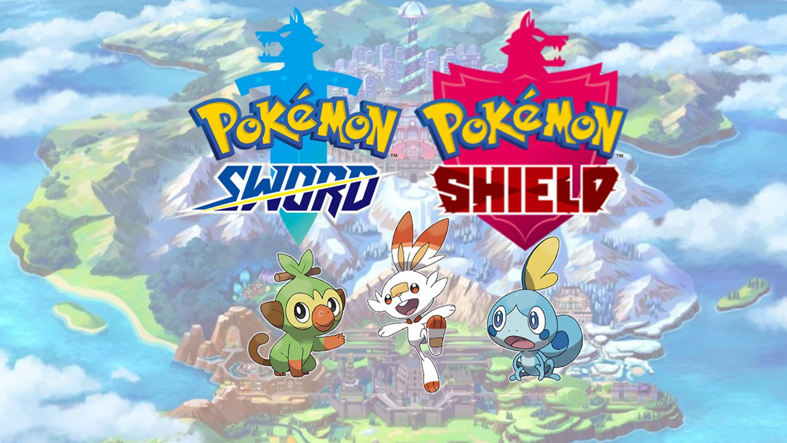 Pokemon Sword Shield Art