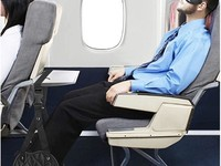 Get more comfortable on a flight with a great footrest for plane travel