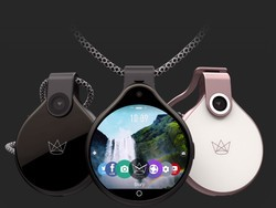 FrontRow is a livestreaming smart necklace with two cameras