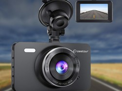 Catch it all on video with Crosstour's 1080p dash cam on sale for $25