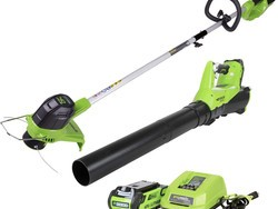 Greenworks string trimmers, mowers, and more are on sale today only