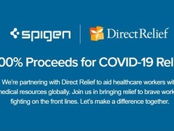Spigen is donating all its proceeds toward COVID-19 relief until April 30