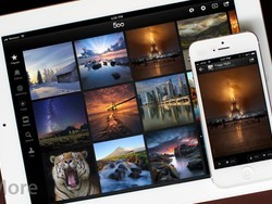 500px for iPhone and iPad review