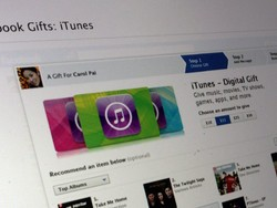Apple's outsourcing of social continues: iTunes gifts now available in Facebook