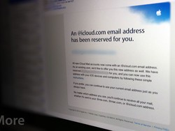 Apple alerting users to reserved iCloud email addresses