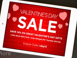 Save 14% on all iPhone and iPad accessories through Valentines Day!