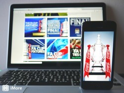 Keep up with the 2013 FA Cup final on your iPhone, iPad and Mac