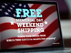 In honor of memorial day, get FREE SHIPPING all weekend from the iMore store!