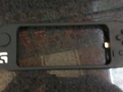 Blurrycam image purports to be a Logitech G-Series gamepad for iPhone 5