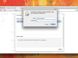 Google Chrome for Mac to add extra authentication to your saved passwords