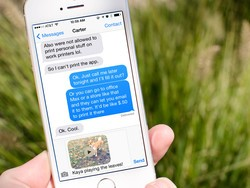 How to send a video using iMessage