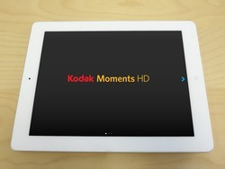 Design photobooks from your iPad with ease using Kodak Moments HD