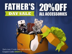 iMore store Father's Day Sale! Save 20% on all iPhone and iPad accessories!