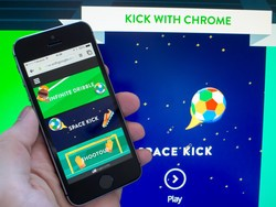 Kick with Chrome brings World Cup excitement to your browser