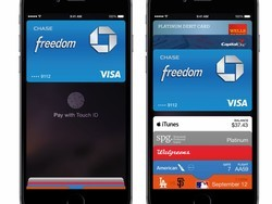 Switching between different credit cards is easy in Passbook
