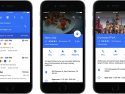 Google Maps getting an Android-style redesign, Uber built-in