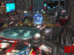 Ant-Man is the latest cabinet for Zen Studios' Pinball games