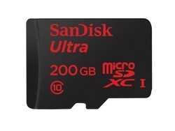 SanDisk's 200GB microSD card is just $64