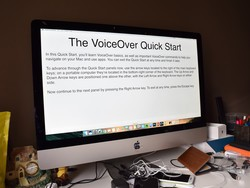 Enabling VoiceOver on Mac