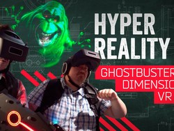 Into the VOID: the Ghostbusters Dimension VR experience