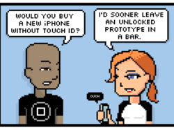 Comic: iPhones Without Touch ID?