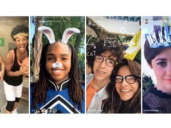 Instagram copies Snapchat, adds AR face filters